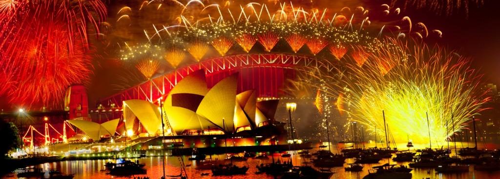 NYE on Sydney Harbour