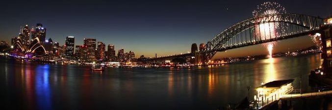 Sydney NYE Fireworks Vantage Points