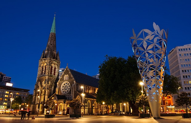New Years Eve in ChristChurch, NZ